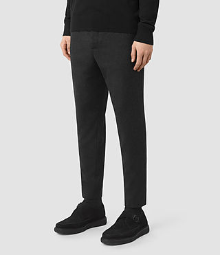Uomo Irving Trouser (Black) - product_image_alt_text_4