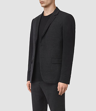 Hombres Irving Blazer (Black) - product_image_alt_text_2