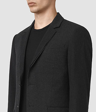 Hombres Irving Blazer (Black) - product_image_alt_text_3