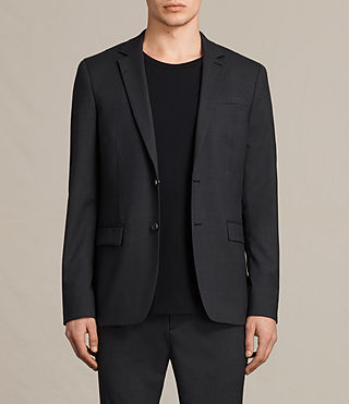 Hommes Blazer Gale (Charcoal Grey) -