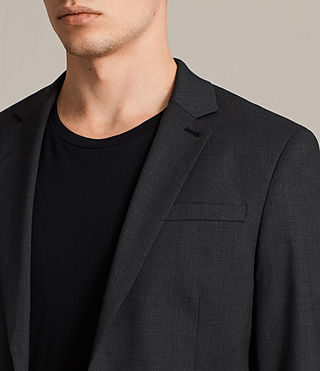 Herren Gale Sakko (Charcoal Grey) - product_image_alt_text_2