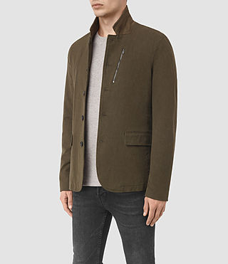 Mens Bryson Blazer (Khaki Green) - product_image_alt_text_3