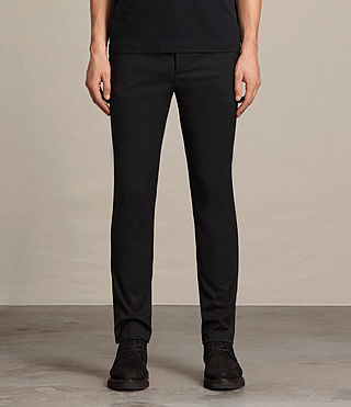 Hommes Pantalon Gale (Black)