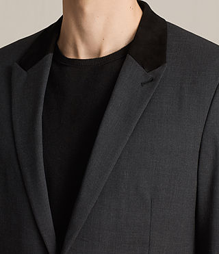 Mens Mavis Blazer (Charcoal) - product_image_alt_text_2