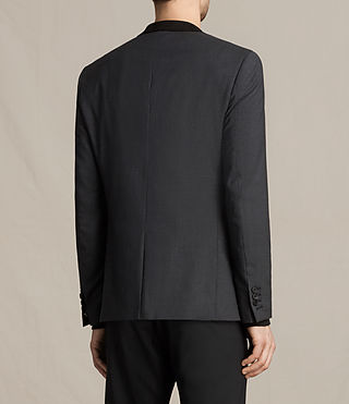 Mens Mavis Blazer (Charcoal) - product_image_alt_text_4