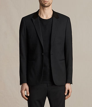 Men's Mavis Blazer (Black) -