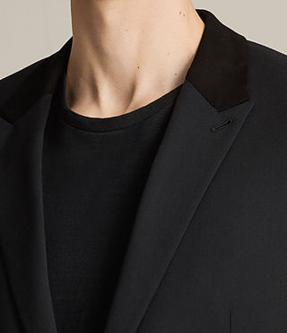 Men's Mavis Blazer (Black) - product_image_alt_text_2
