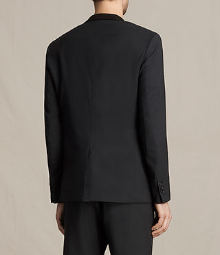 Men's Mavis Blazer (Black) - product_image_alt_text_5