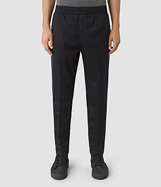 Uomo Kode Trouser (INK NAVY) - product_image_alt_text_2