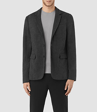 Men's Saga Blazer (Charcoal Grey)