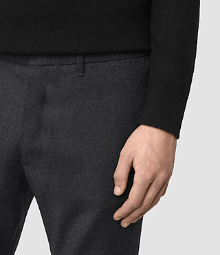 Hombres Colt Trouser (Charcoal Grey) - product_image_alt_text_2