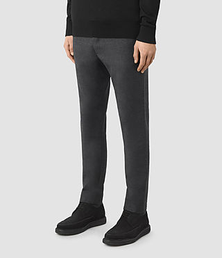 Hombres Colt Trouser (Charcoal Grey) - product_image_alt_text_3