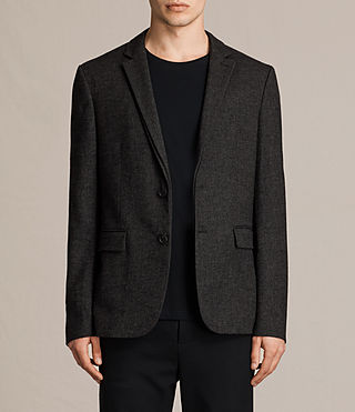 Mens Dayton Blazer (Charcoal) - product_image_alt_text_1