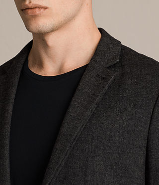 Men's Dayton Blazer (Charcoal Grey) - product_image_alt_text_2