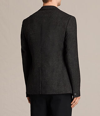 Men's Dayton Blazer (Charcoal Grey) - product_image_alt_text_4