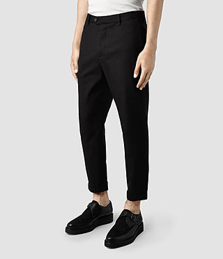 Hommes Nile Trouser (Black) - product_image_alt_text_2