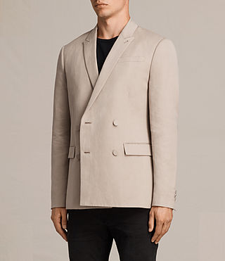 Mens Elmore Blazer (Dusty Pink) - product_image_alt_text_3