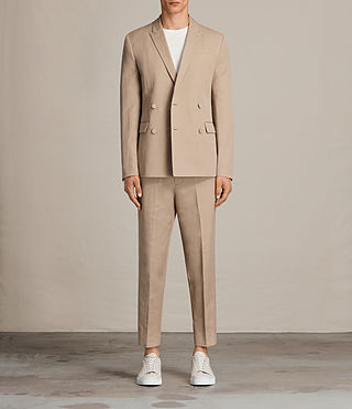 Men's Elmore Blazer (SAND BROWN) - Image 1