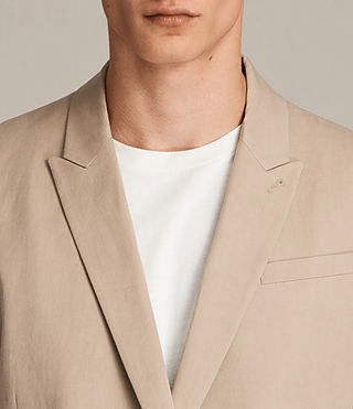 Men's Elmore Blazer (SAND BROWN) - Image 2