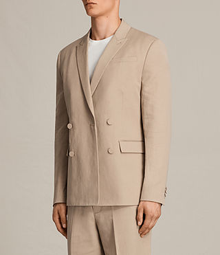 Men's Elmore Blazer (SAND BROWN) - Image 4