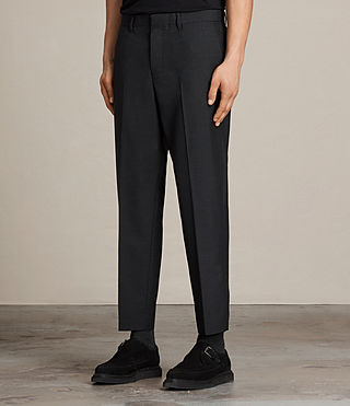 Men's Ikon Trouser (Black) - product_image_alt_text_3