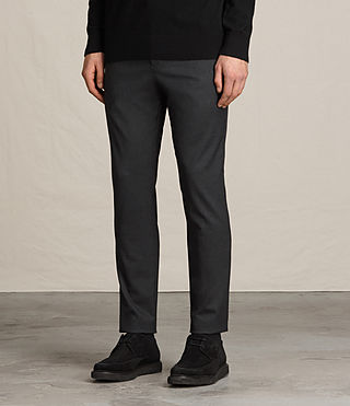 Men's Mavis Trouser (Charcoal Grey) - product_image_alt_text_3