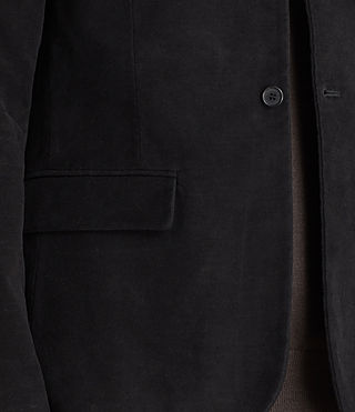 Uomo Blazer Wards (Black) - product_image_alt_text_2