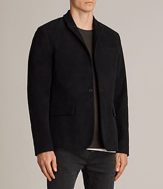 Uomo Blazer Wards (Black) - product_image_alt_text_3
