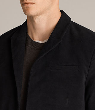 Uomo Blazer Wards (Black) - product_image_alt_text_4