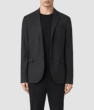 Mens Eldon Blazer (Charcoal) - product_image_alt_text_1