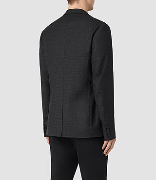 Men's Eldon Blazer (Charcoal Grey) - product_image_alt_text_4
