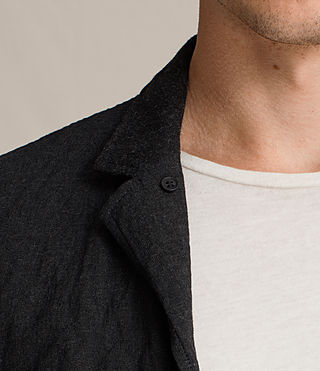 Men's Strat Blazer (Charcoal Grey) - product_image_alt_text_2