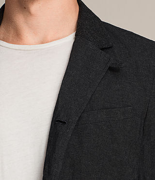 Men's Strat Blazer (Charcoal Grey) - product_image_alt_text_4