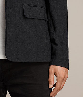 Men's Strat Blazer (Charcoal Grey) - product_image_alt_text_5