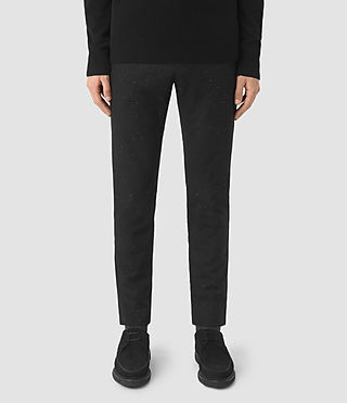 Hommes Larkin Trouser (Black/White)