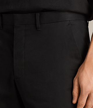 Mens Avon Trouser (Black) - Image 2