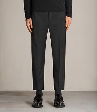 pantaloni vernon tapered