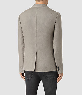 Uomo Dekalb Linen Blazer (Steel Grey) - product_image_alt_text_3