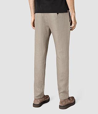 Hombres Dekalb Linen Trouser (Steel Grey) - product_image_alt_text_3