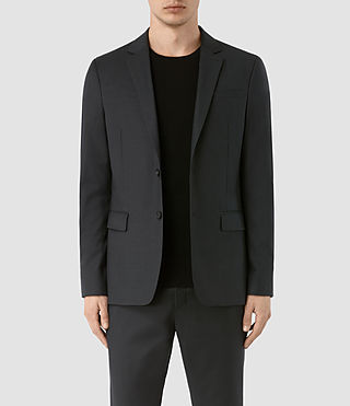 Uomo Blazer in lana Karlsen (Charcoal Grey)