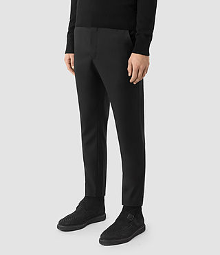 Men's Tera Trouser (Black) - product_image_alt_text_2