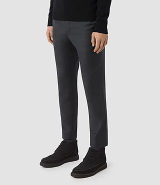 Hommes Pantalon Karlsen (Charcoal Grey) - product_image_alt_text_2