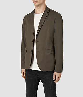 Mens Kirwin Blazer (Bitter Brown) - product_image_alt_text_3