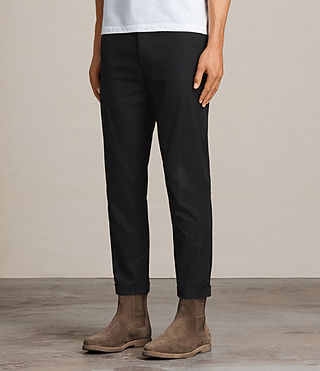 Men's Carlow Trouser (Black) - product_image_alt_text_3