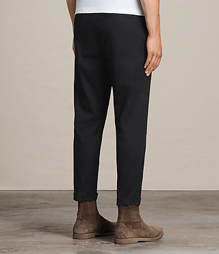 Men's Carlow Trouser (Black) - product_image_alt_text_4