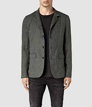 Men's Canarsie Linen Blazer (ANTHRACITE GREY)