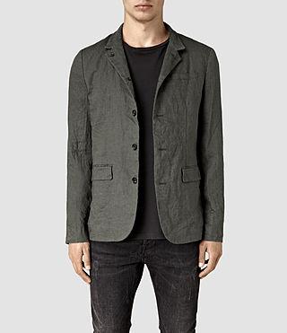 Men's Canarsie Linen Blazer (ANTHRACITE GREY)