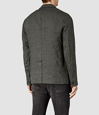 Mens Canarsie Linen Blazer (ANTHRACITE GREY) - product_image_alt_text_4
