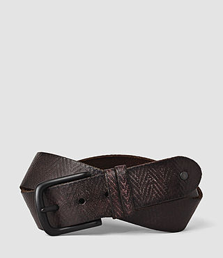 Hombres Ether Belt (Bitter Brown)