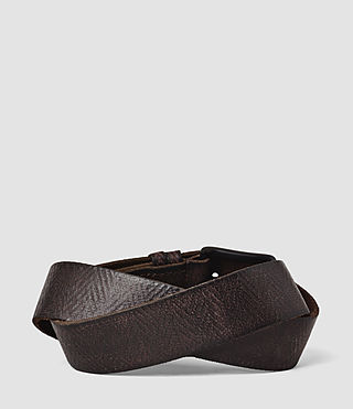 Mens Ether Belt (Bitter Brown) - product_image_alt_text_2